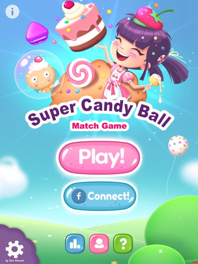 Super Candy Ball released for iOS - Unique Fingertip Match Game Image