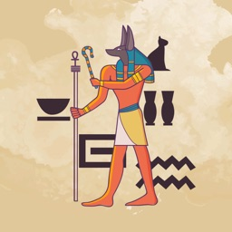 Ancient Egypt Gods Stickers