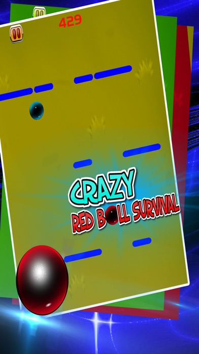 Crazy Red Ball Survival-3