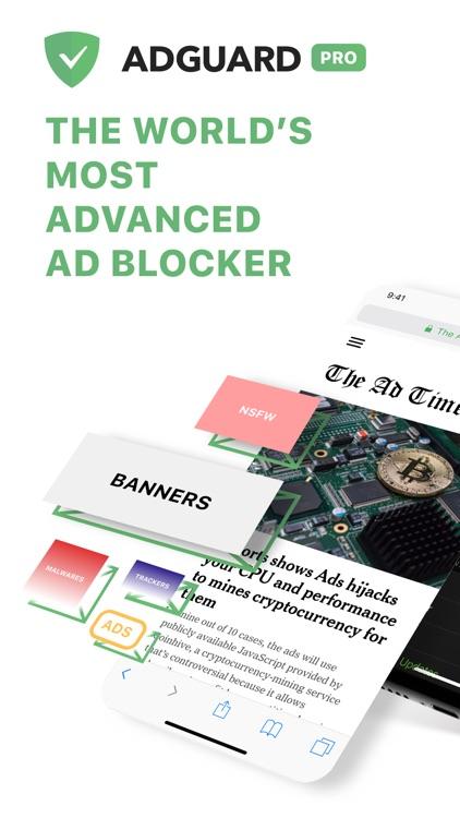 AdGuard Pro — no ads&popups