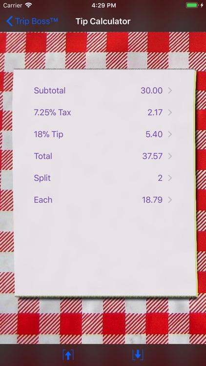 Trip Boss Expense manager screenshot-3