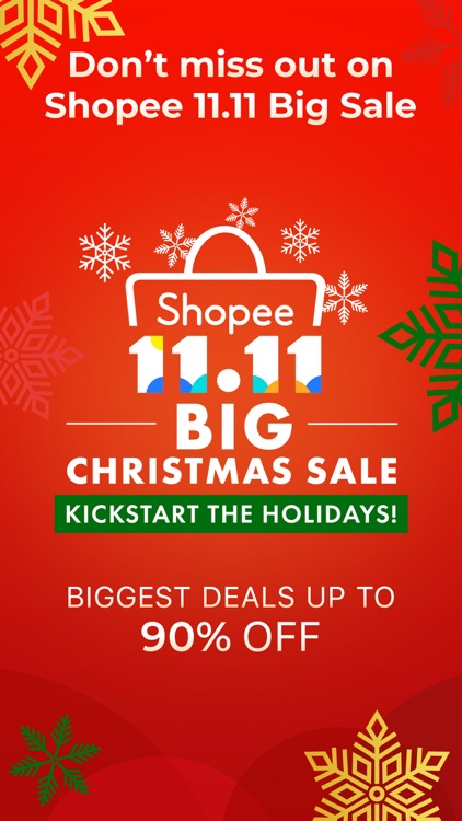 Shopee PH 11.11 Christmas Sale screenshot-0