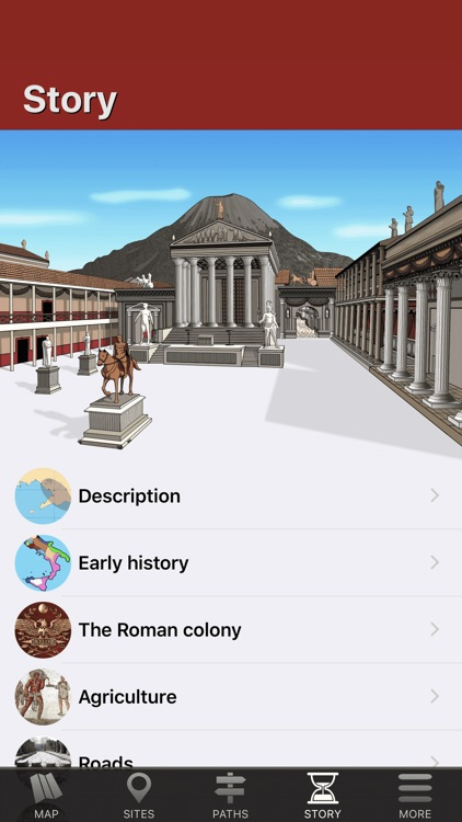 Pompeii Map - Travel Guide screenshot-5