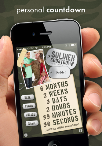 Soldier Countdown - náhled