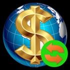 iCurrency: tasas y calculadora icon