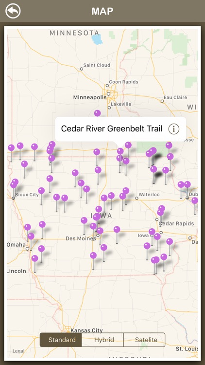 Iowa Hiking Trails screenshot-3