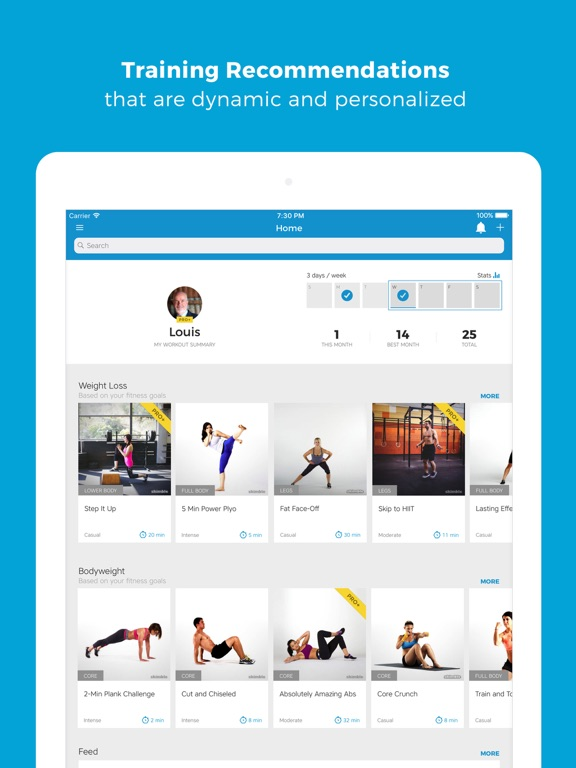 Workout Trainer: fitness coach-ipad-2