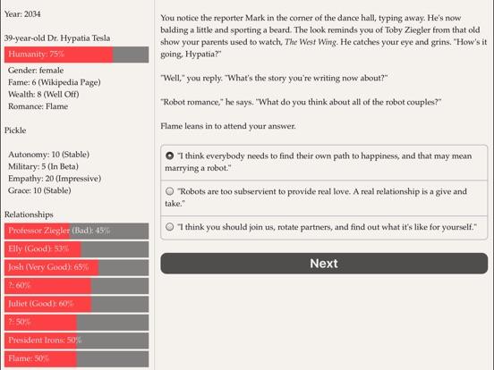 Choice of Robots Screenshots