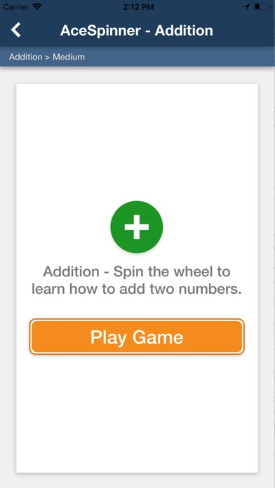 Ace Spinner Math Games screenshot 4