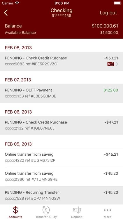 Commerce Bank Texas Mobile screenshot-3