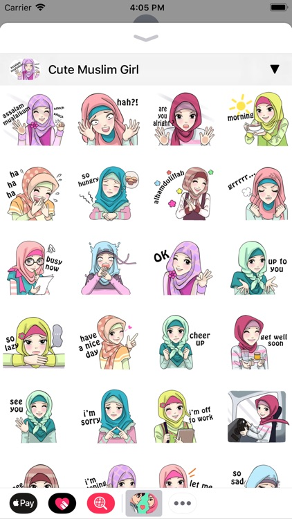 Muslim Stickers App screenshot-4