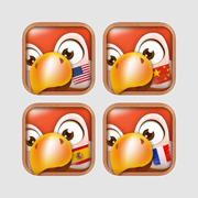 8 Languages Collection: English, Spanish, French, German, Chinese, Japanese, Korean..