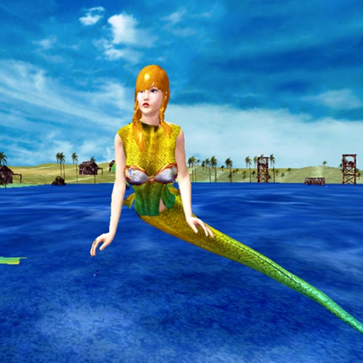 Hungry Mermaid Attack Simulator: Deadly Sea