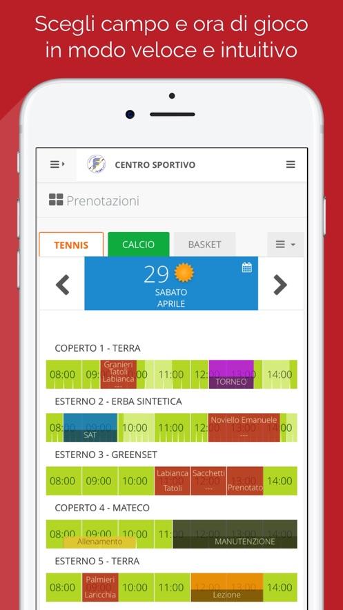ASD Canottieri Flora App 截图