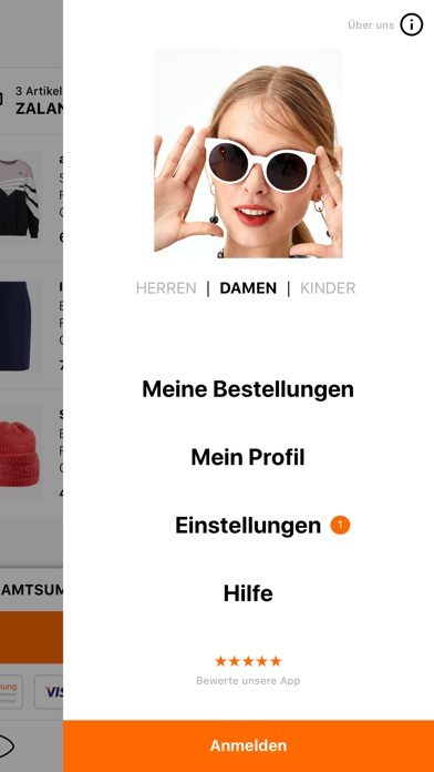 Screenshot for Zalando - Shopping und Fashion in Germany App Store
