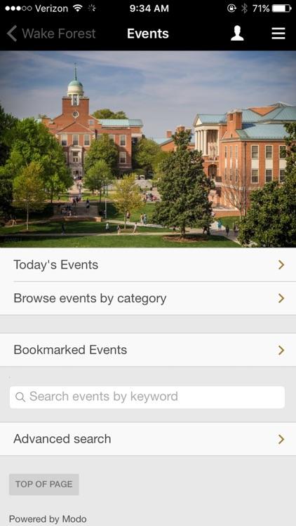 WFU Mobile Web screenshot-4