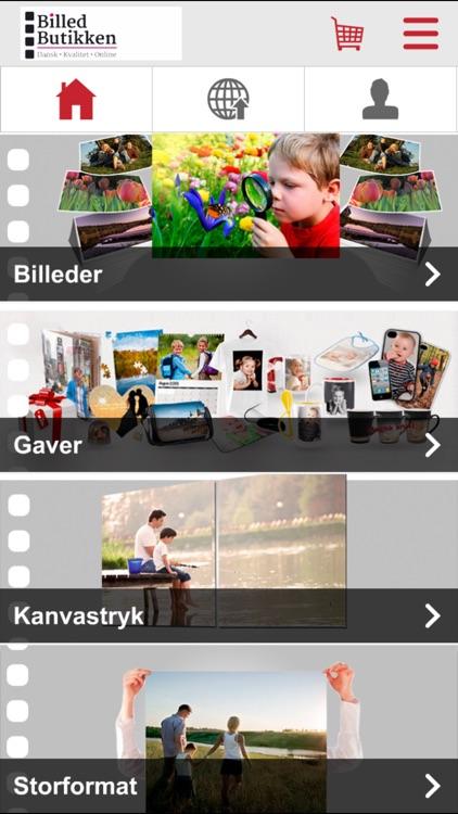 Billedbutikken Mobil app