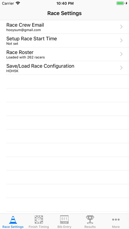 RaceTiming screenshot-0