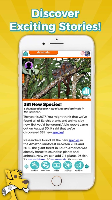 Screenshot #2 pour News-O-Matic EDU