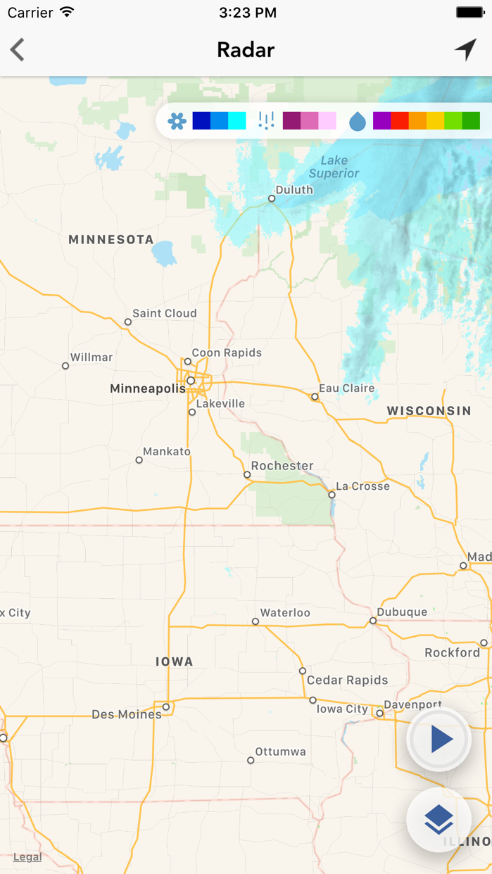 Local Weather Radar & Forecast Screenshot