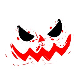 Happy Halloween Grisly Sticker