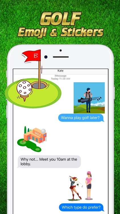 Golf Emoji & Stickers