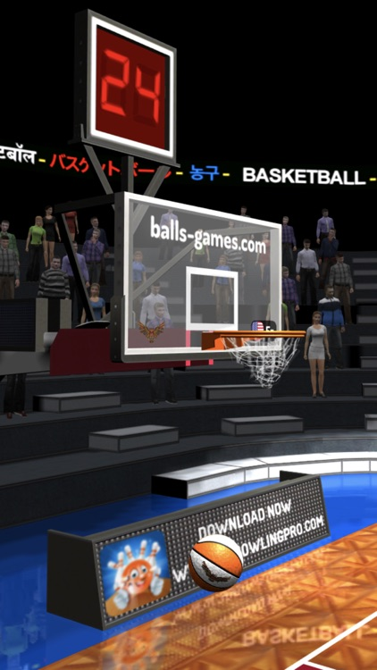Basketball 3D Shooting Contest screenshot-7