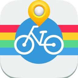 Curitiba Cycling Map