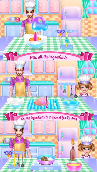 Daddy Cooking Time Screenshot