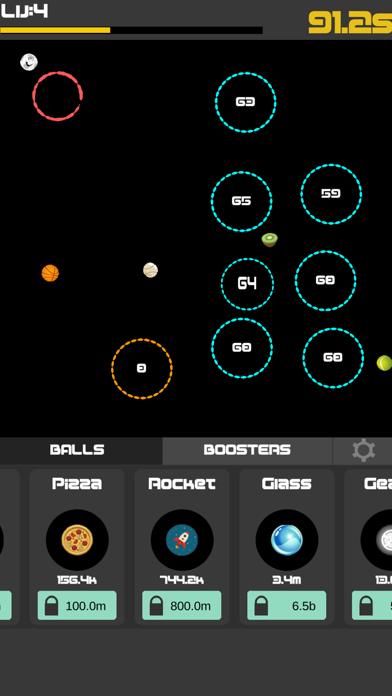 Idle Balls 2-Break Color Rings screenshot four