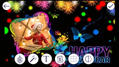 New Year Photo Frames screenshot one