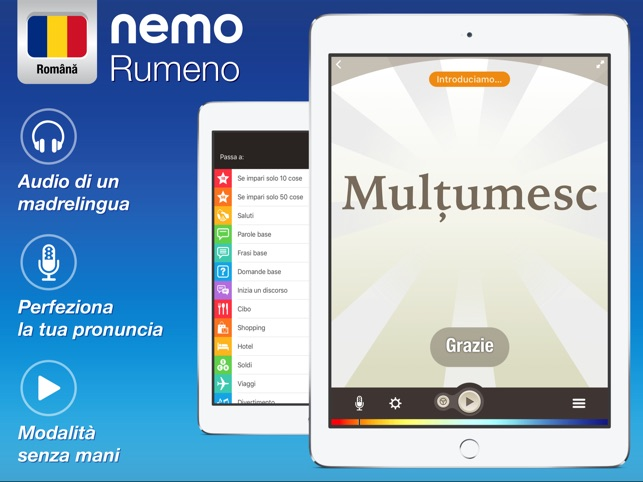 Rumeno Imparare Con Nemo Su App Store