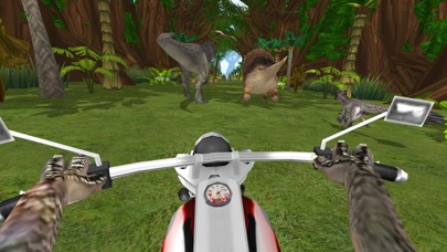 迅猛 摩托车骑士 恐龙世界 App 截图