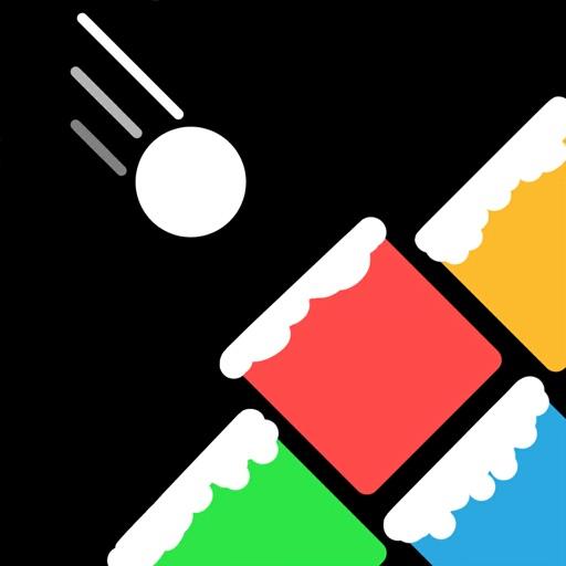 Pinball vs Block!Falling Balls