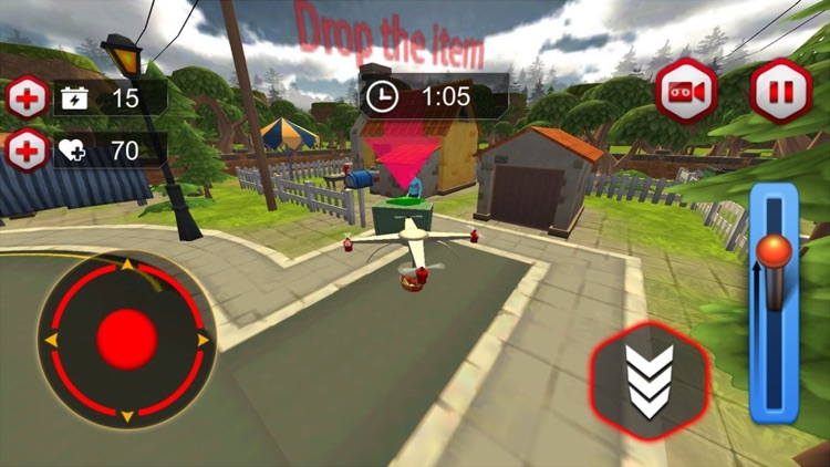 Drone Simulator For Food Delivery screenshot-3