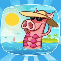 Pete The Pig! Stickers