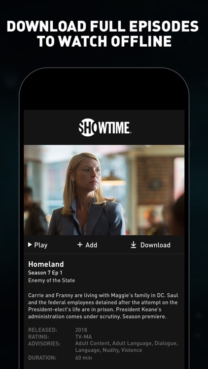 SHOWTIME: TV, Movies and More screenshot-3