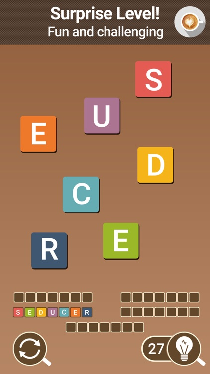 AnagrApp Cup - Word Brain Game screenshot-3
