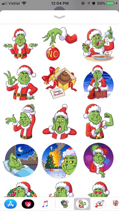 Christmas Funny Sticker 2019 screenshot 1