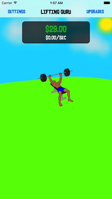 Lifting Guru - The Game screenshot one