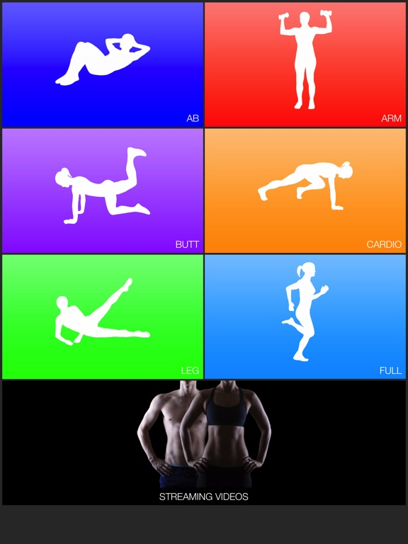 Daily Workouts Fitness Trainer-ipad-0