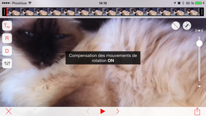 Screenshot #3 pour Emulsio › Video Stabilizer