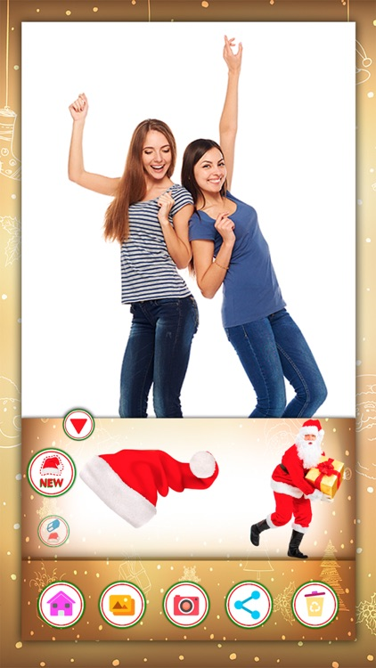 Christmas stickers & jokes screenshot-3