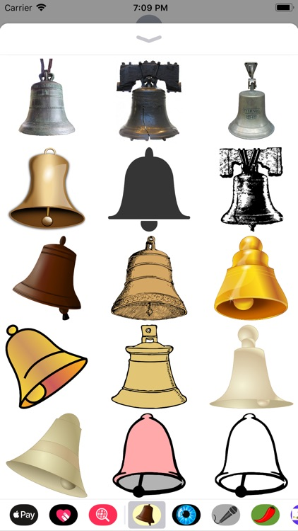 Bell Stickers screenshot-0