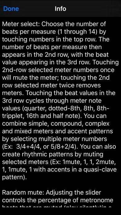 Time Guru Metronome screenshot1