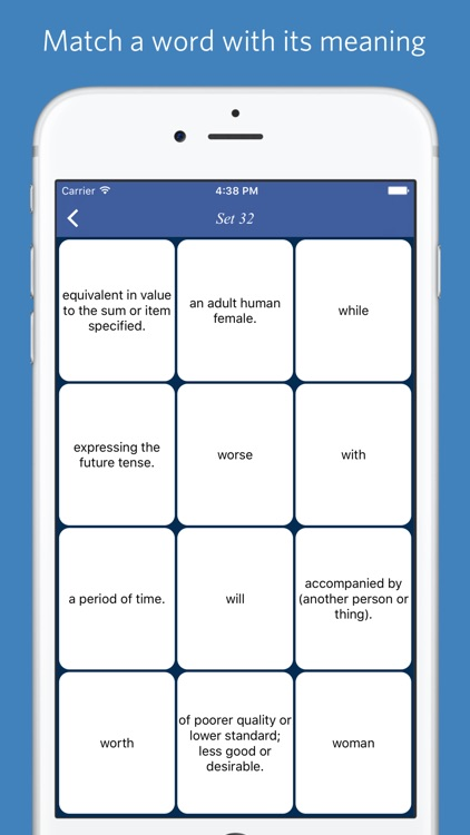 Mastering VOA Special English Word List - quiz, flashcard and match game screenshot-3
