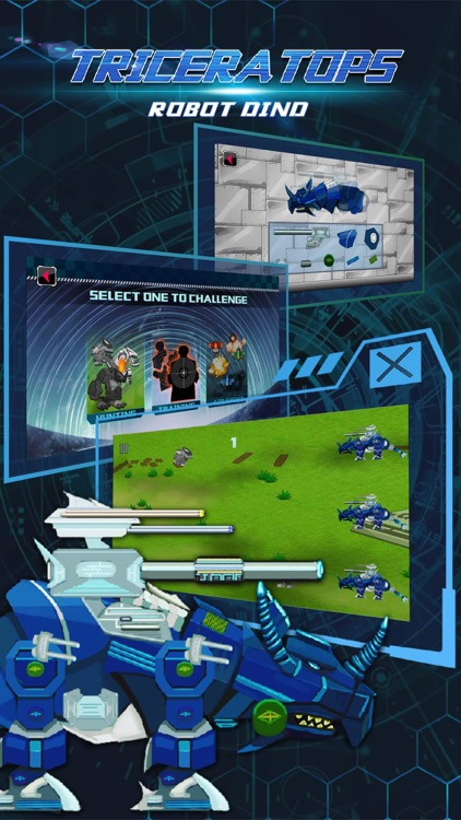 Triceratops: Robot Dino, Trivia & Puzzle Game for Free screenshot-3