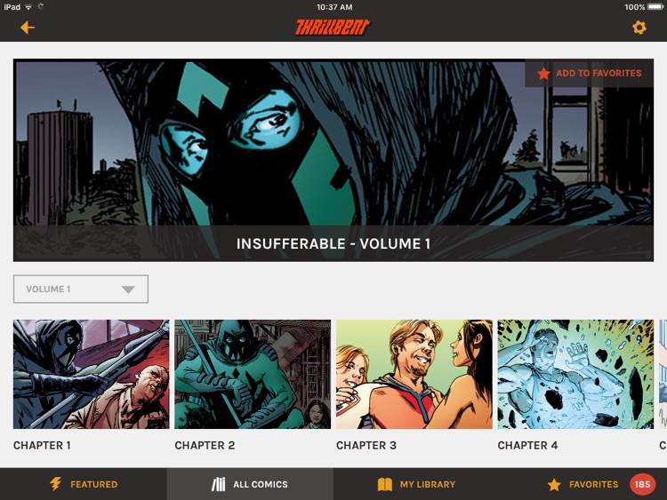 Thrillbent Comic Reader screenshot-3