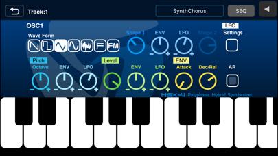 Screenshot #1 pour XENON Synthesizer