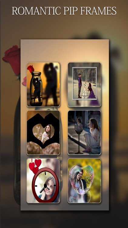 Pip Camera - HEART EDITION Photo Art Editor With Love Layover Frames